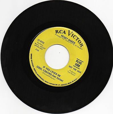 Northern Soul - Peggy March - If You Loved Me (Soul Coaxing)