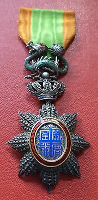 France French Colonial Order of the Dragon of Annam 5 class medal badge Vietnam