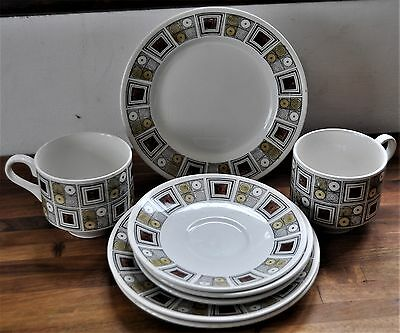 Original retro 1960's Kathie Winkle-Broadhurst 'Rushton' small set