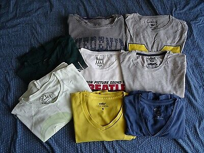 8 t-shirts homme Taille M celio