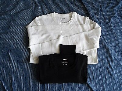 2 t-shirts homme manches longues Taille M celio