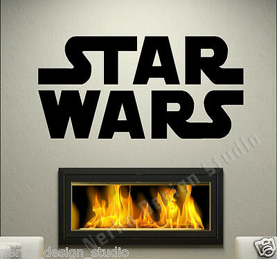WALL QUOTES Star Wars Wall Stickers Wall Art Decal  HOME ART DECOR Removable N93