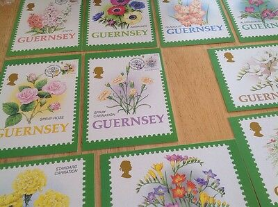 Guernsey Fdc Postcards In A Joblot