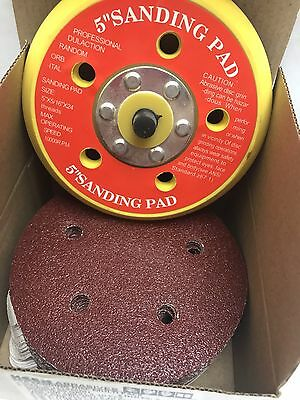 "Mixed Grit,  KEEN 5"" Sticky PSA SANDING DISC Red Kit, 76085 (201/Pack)"