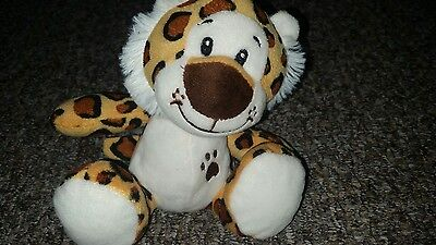 little cuddly soft toy tiger