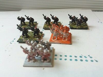 Epic 40K Imperial Ogryn Troopers  x 6 bases
