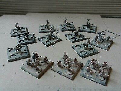 Epic 40K Imperial Guard Standard Bearers  x 13 bases