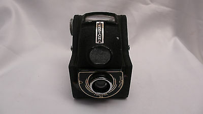 British Made Ensign Full Vue Vintage Box Camera 6×6cm on 120 film WW2