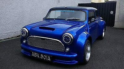 1963 Classic mini mk1 custom chop wide body kit signed by Paddy Hopkirk