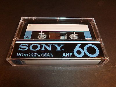 PROMO  -10%   Cassette Audio - SONY - AHF - 60mn  - NEUF NON SCELLEE