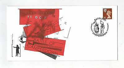 Gb 1997 Illustrated Event Cover Battle Of Camperdown Dundee With Special Cancel