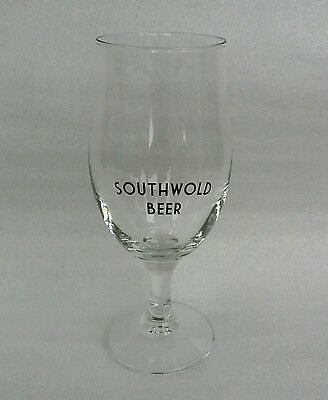 Samuel Adams Brewery Southwold Beer Stemmed Half Pint Glass  -  Home Bar - Pub
