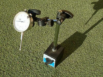 Dial Indicator with Magnetic Base. 0.000 in. to 1.000 in.