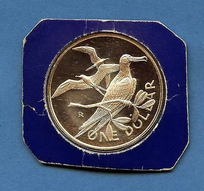1976 British Virgin Island 1 Silver Dollar (25.7 Grams .925 Silver)