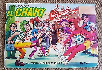 1970's EL CHAVO Chespirito EL CHAPULIN COLORADO ALBUM STICKERS VINTAGE