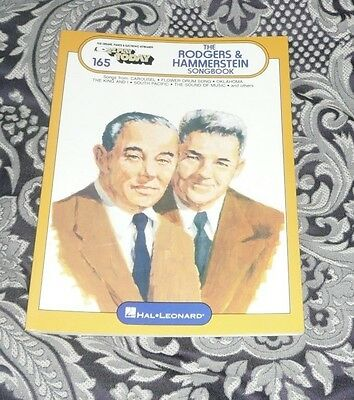 EZ PLAY TODAY 165 The Rodgers & Hammerstein Songbook -  Musicals FREE POSTAGE