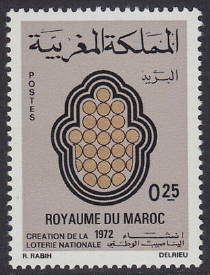MOROCCO - 1972 Creation of National Lottery (1v) - UM / MNH