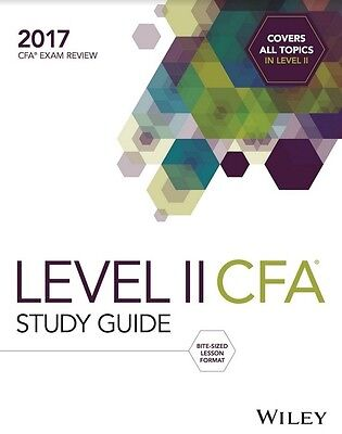 2017 Wiley Study Guide for 2017 Level 2 Cfa Exam