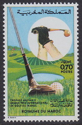 "MOROCCO - 1974 International ""Hassan II Trophy"" Golf Grand Prix (1v) - UM / MNH"