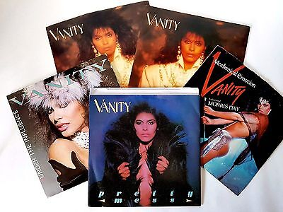 Job Lot Vanity (Prince) 7'' Singles Some Rare And Promo'S