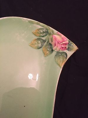 Art deco Royal Winton Green Hand Painted  Plate 5411