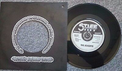 """THE ADVERTS ''ONE CHORD WONDERS"""" (RARE) 1977 punk"""
