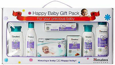 Himalaya Herbal Baby Care Products Gift Pack Inclusive of 7 Items