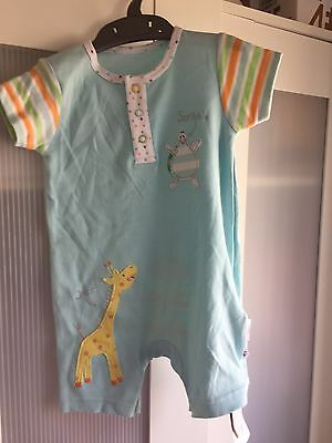 Baby Boy Mothercare Romper Brand New With Tags 6-9 Months
