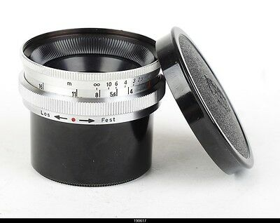 Lens Zeiss Jena  Topogon 4/25mm Red T No3443172   for Contax Rangefinder