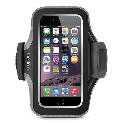 Belkin Slim-Fit Plus Fitness Armband for iPhone 6 and iPhone 6s  Black