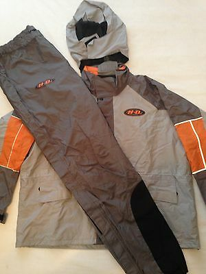 Harley-Davidson Packable Reflective Men's Rain Gear Jacket and Pants  3XL