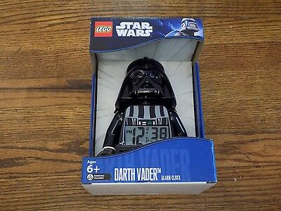 Star Wars Darth Vader Lego Alarm Clock - Brand new in Box