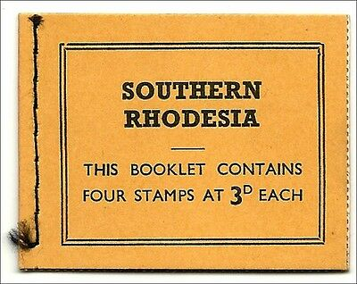 Southern- Rhodesia 1964,  QE  3d stamp booklet