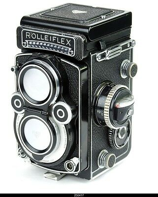 Rolleiflex 3.5F Type 3/4 White Face  12/24  Nr2824636