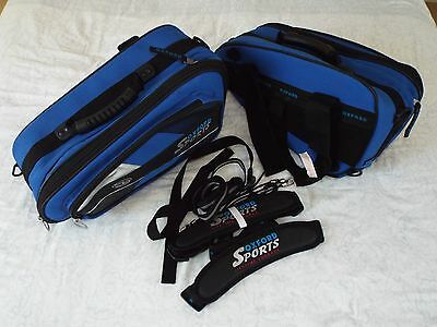 Motorcycle Luggage Panniers Oxford Sport Universal Blue