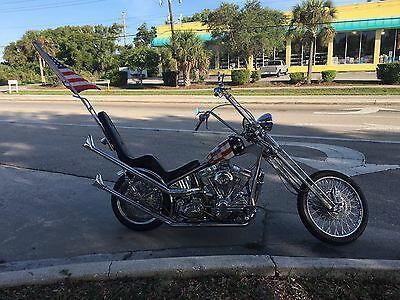 1997 Custom Built Motorcycles Chopper  1997 Custom & Professionally built Captain America Easyrider Inspired Chopper