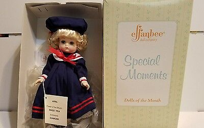EFFANBEE Special Moments Doll of the Month APRIL Sweet Pea