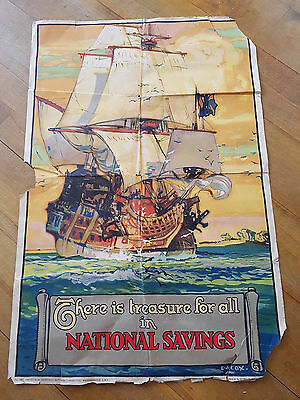 national savings poster vintage