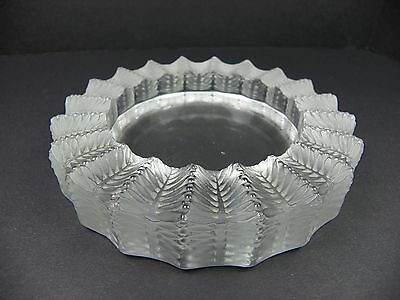 Lalique Cristal of France Jamaique Ashtray French Crystal