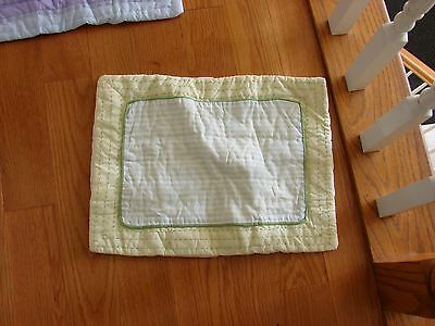 Pottery Barn Kids Small Heather Patchwork Quilted Sham Adorable
