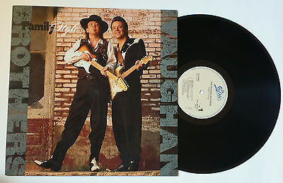 LP - (Stevie Ray) VAUGHAN BROTHERS - Family Style (1990) con inserto, w/insert