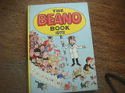 The Beano Book 1972 Hardcover - VERY GOOD CONDITION
