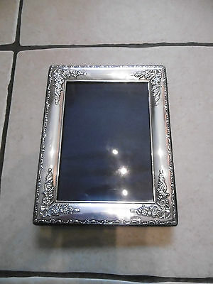 Solid Silver Picture Frame