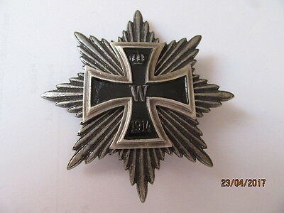 German 1914 silver Star of the Grand Cross of the Iron Cross