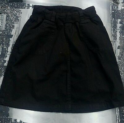 To be by valja maternity black mini skirt size S fits UK 8 10. Elastic belt