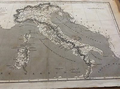 1807 Map Of Italy
