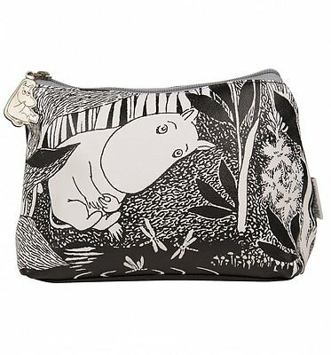 Official Moomins Midwinter Monochrome Make Up Bag from Disaster Designs