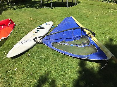 Windsurf Set missing deck socket and in need of some repairs