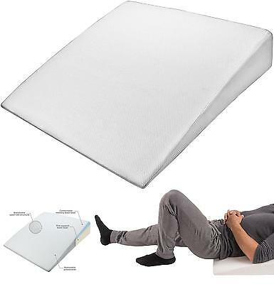 Pharmedoc Bed Wedge Support Pillow - Washable Case – Therapeutic Relief For Sl