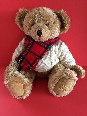 Harrods Bear - Giles Christmas Foot Dated Bear 2002